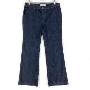 Chicos 1 Platinum Bootcut Jeans Blue Dark Wash M/8